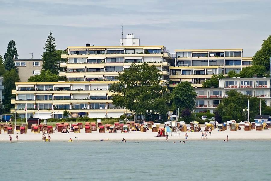 Appartementanlage Miramar Uferstrasse 16 in Grömitz.