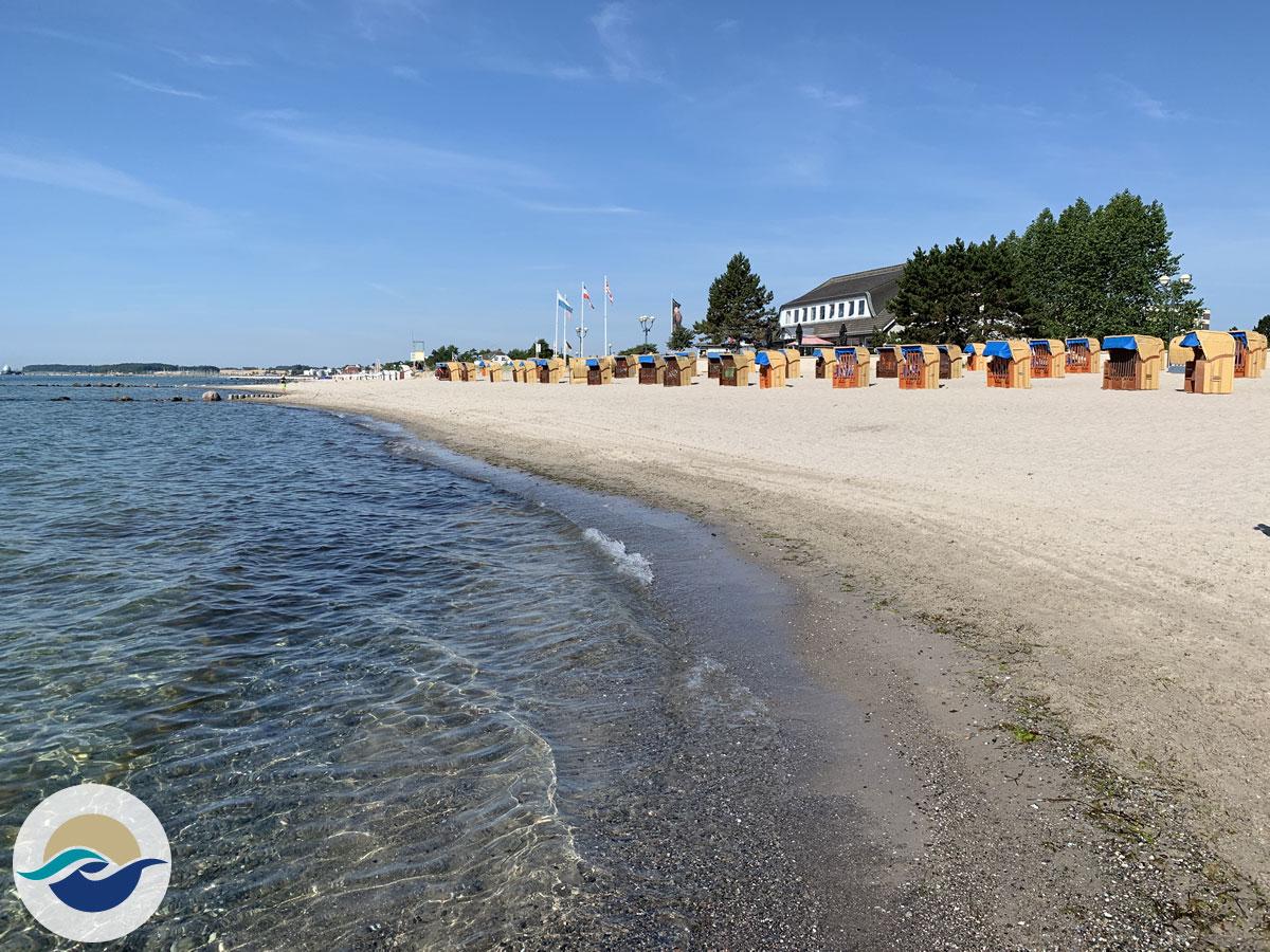 Grömitz verfügt über zwei offizielle Hundestrände und die Steilküste.